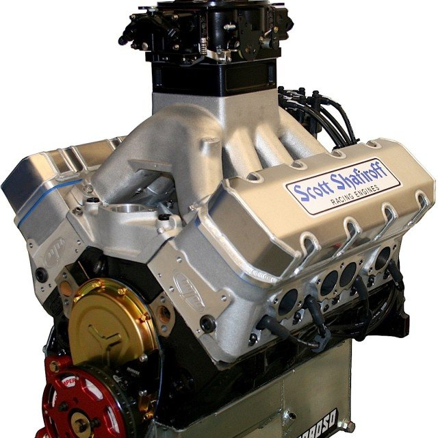 Trick Flow Super 23 195 Cylinder Head For Small Block: Shafiroff, SB2.2 Heads Power Up Gen I SBC