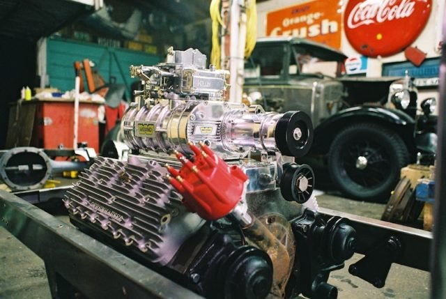 A_Blown_Flathead_In_The_Build_Stage_courtesy_of_moes_garage