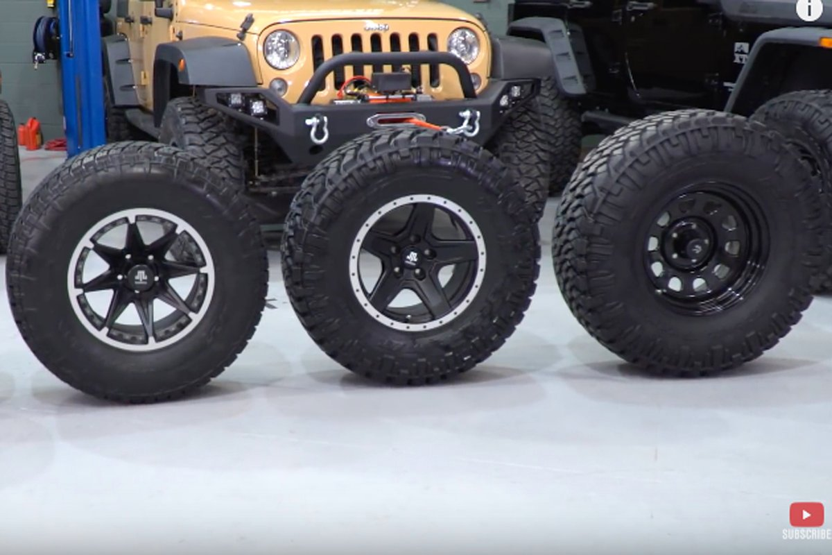 Selecting The Right Size Tire For Your Jeep