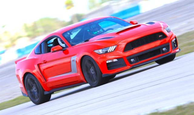 The Roush RS3 looked and sounded great lapping Sebring. Notably, the blower sound was muted, but the signature Roush quad-tip exhaust announced the car's presence before it entered the range of our camera lens.