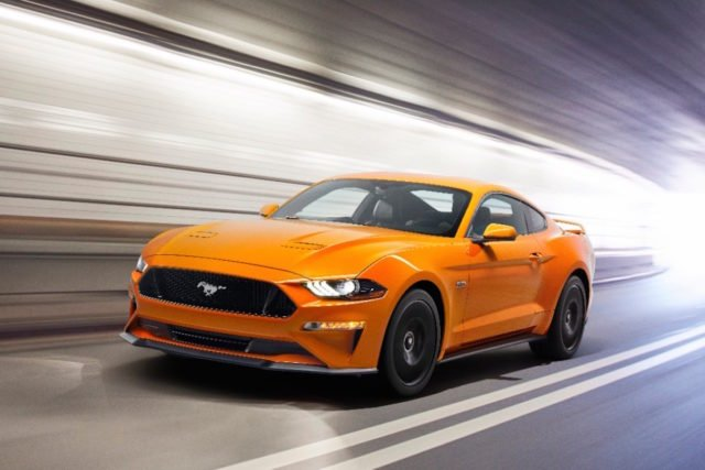 The 2018 Mustang and 2018 F-150 will both be able to see pedestrians in the dark and apply the brakes if they enter the path of these vehicles.
