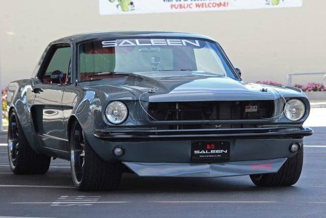 eBay Find: Saleen-Inspired Custom Wide-Body 1965 Mustang