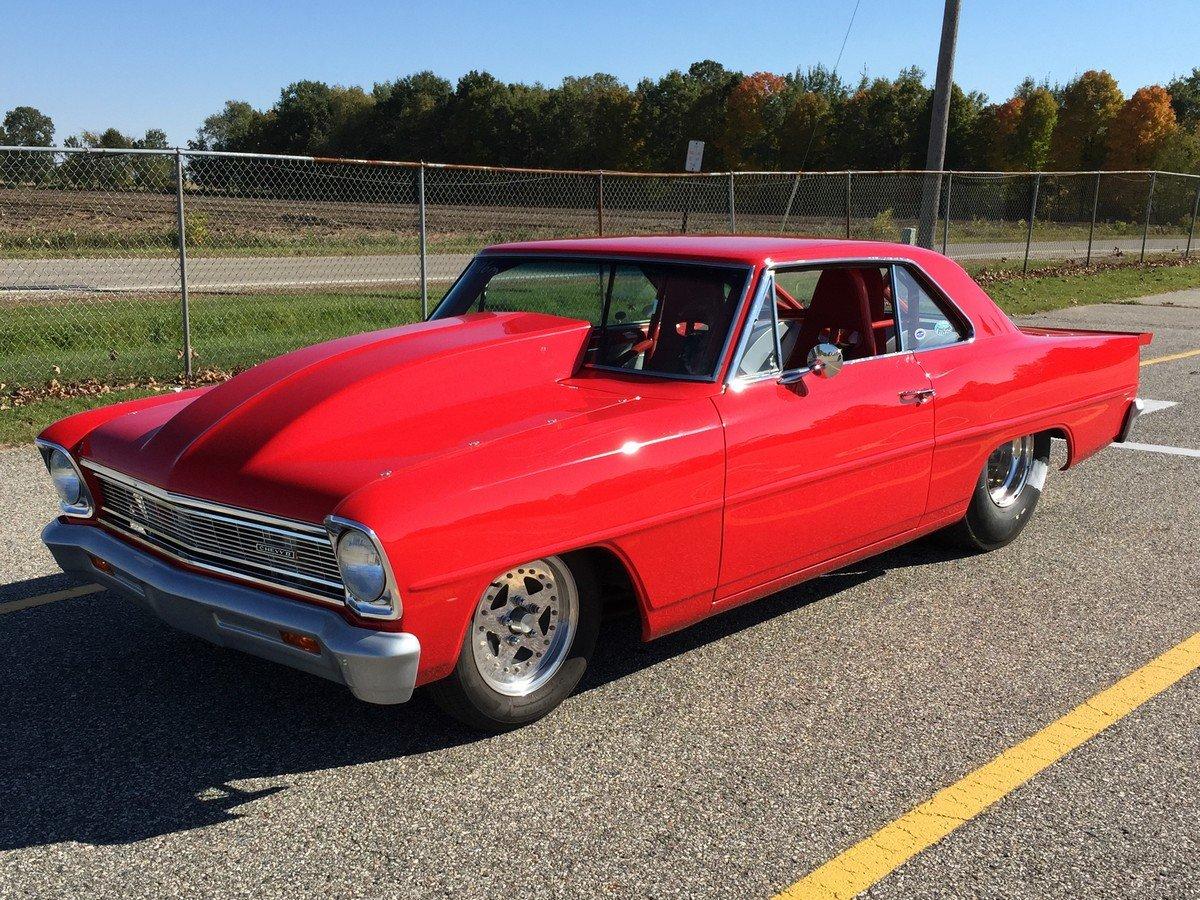 Red Hot Street Car: Steve Marsa's Eight-Second 1966 Nova