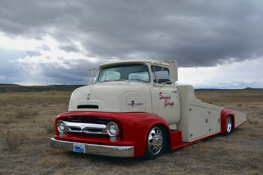 Custom Gmc Trucks >> Suzy Stuchel's Custom 1956 COE Hauler