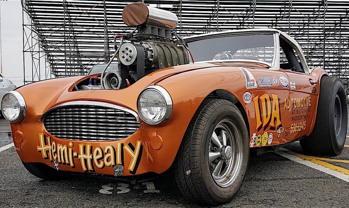 Drizzle Unable To Dampen Spririts At The 38th Annual Old Time Drags