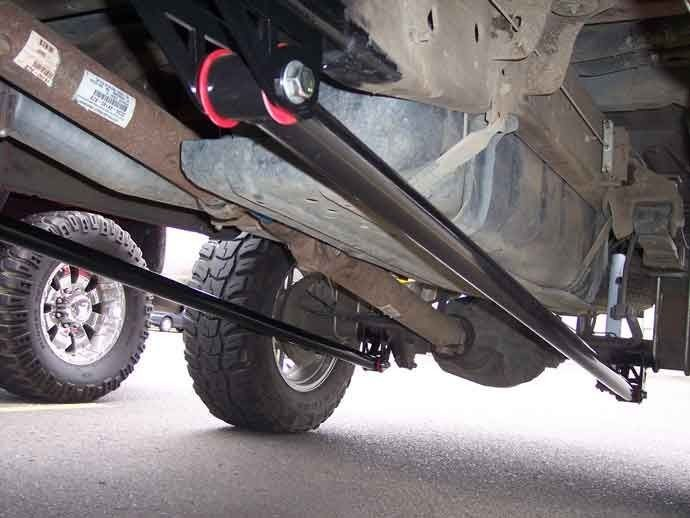 Traction Bars A Necessity For Your Diesel To Prevent Axle