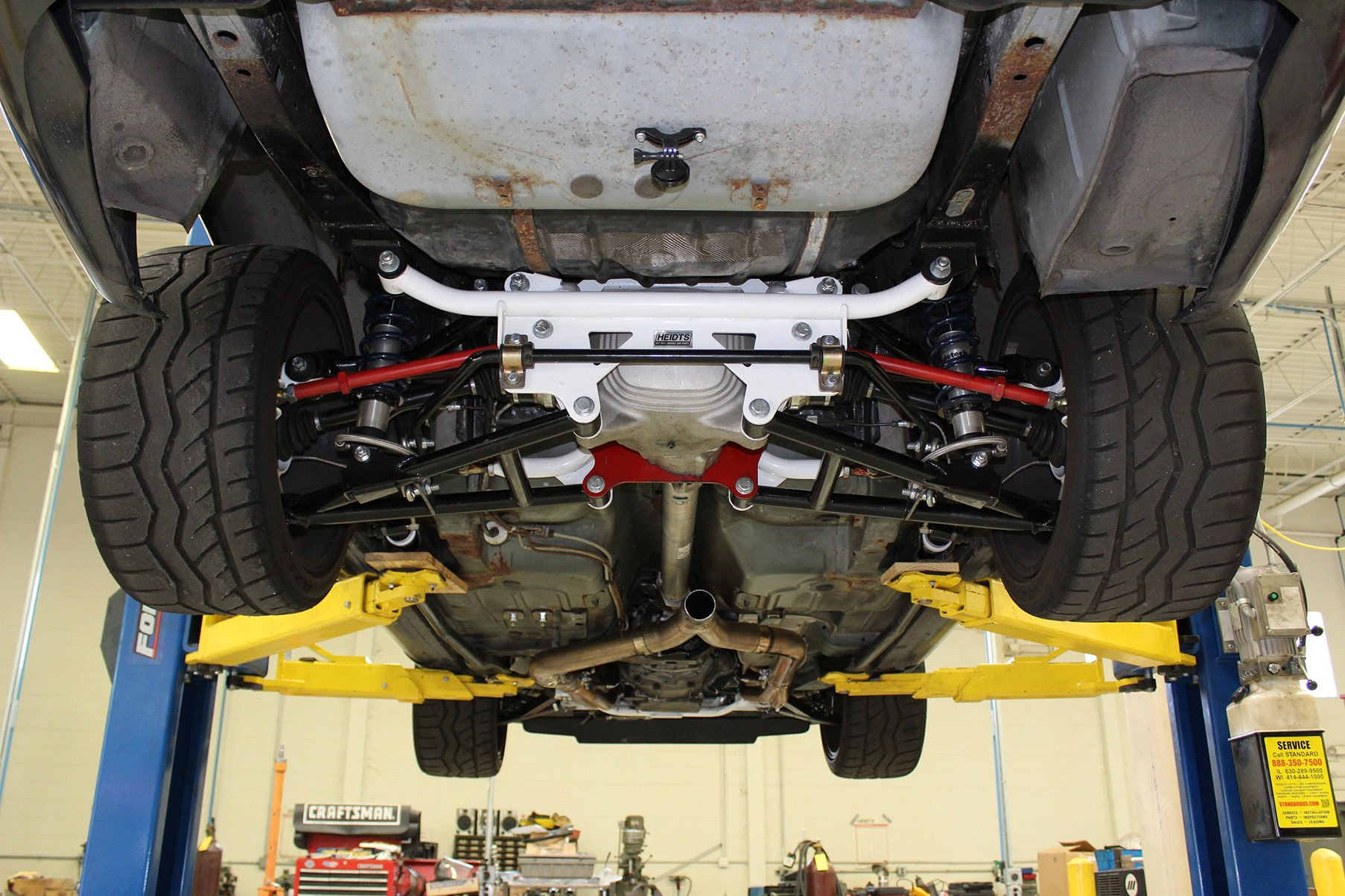 Indepedent Rear Suspension Irs In A 4th Gen Ls1tech
