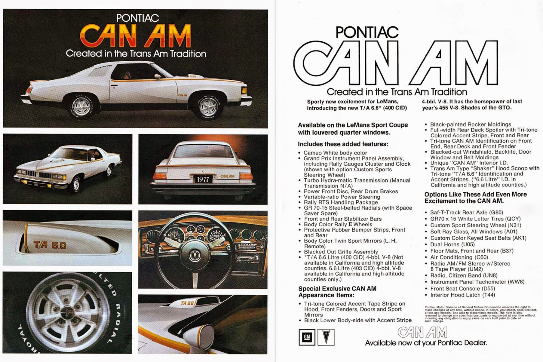 Muscle Cars You Should Know Pontiac Can Am