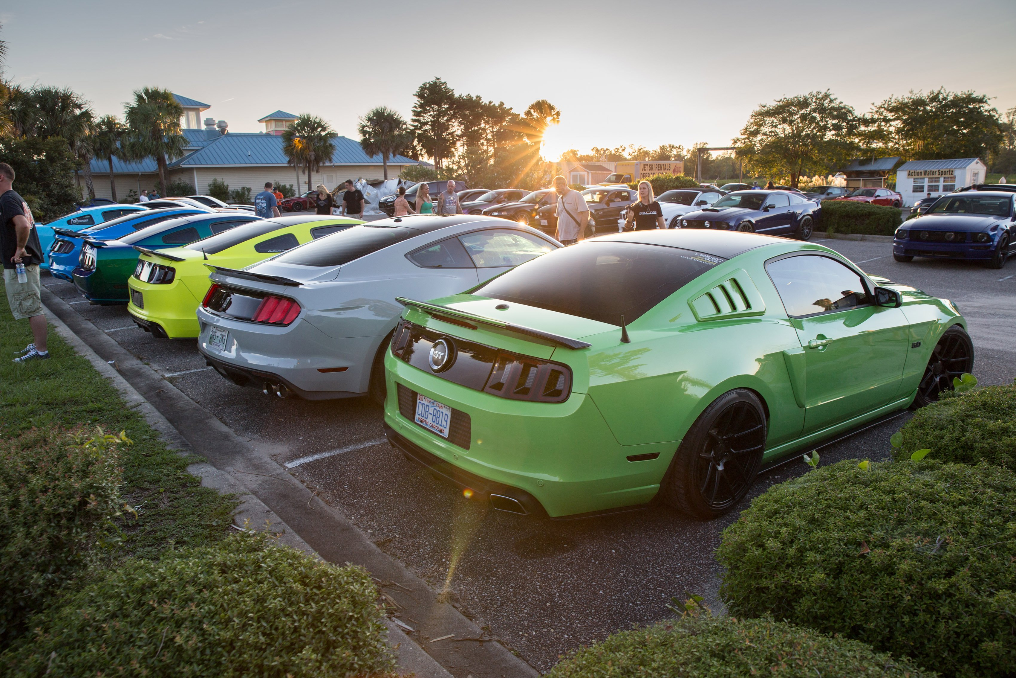 The Hottest After Hours Action At Mustang Week 2017