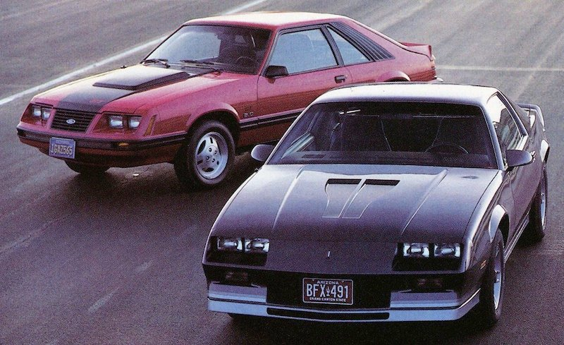 The Pony Car Wars of the 1980s