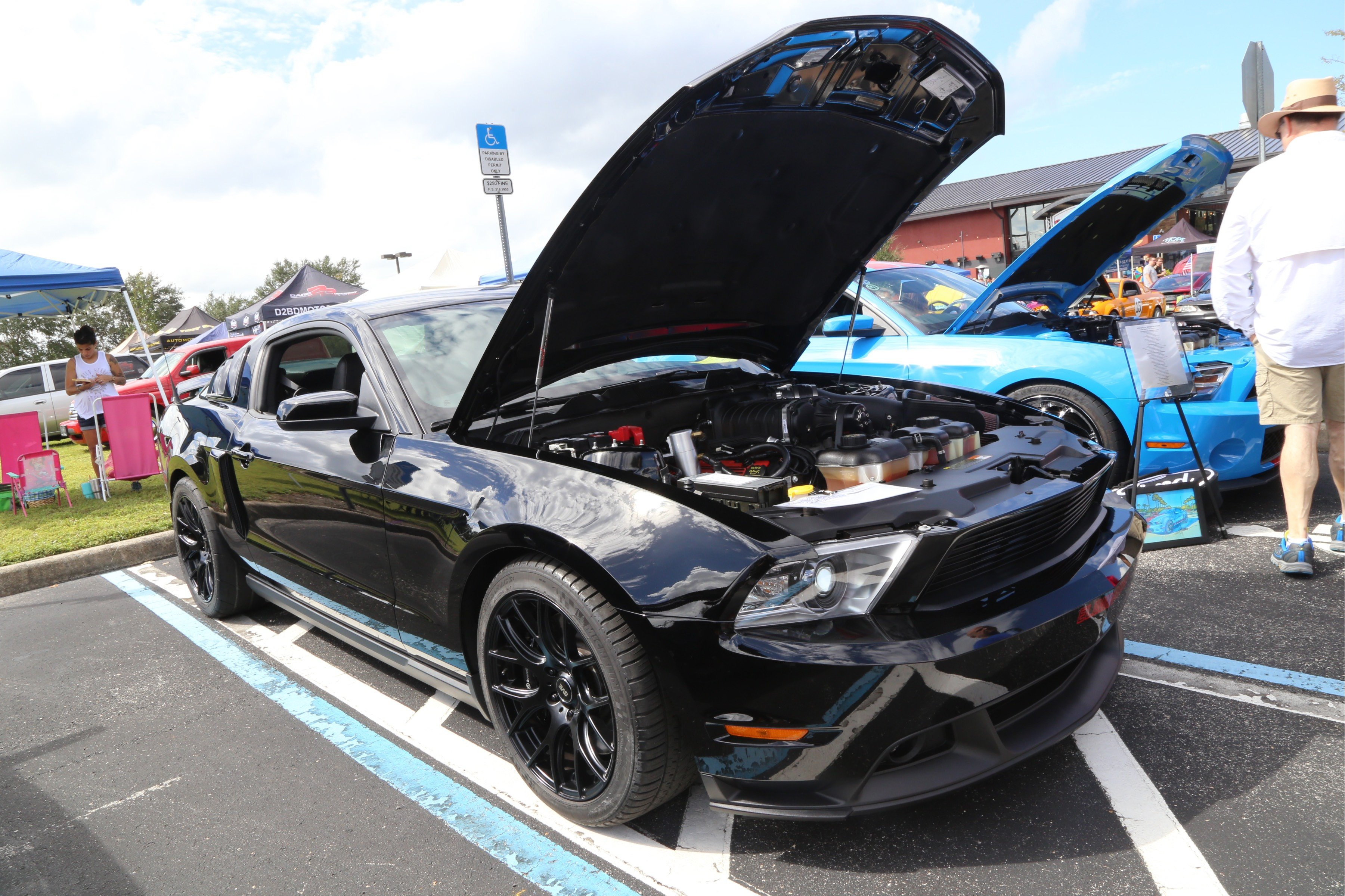Our Top 5 Mustangs At The Rockin\' American Muscle Car Show
