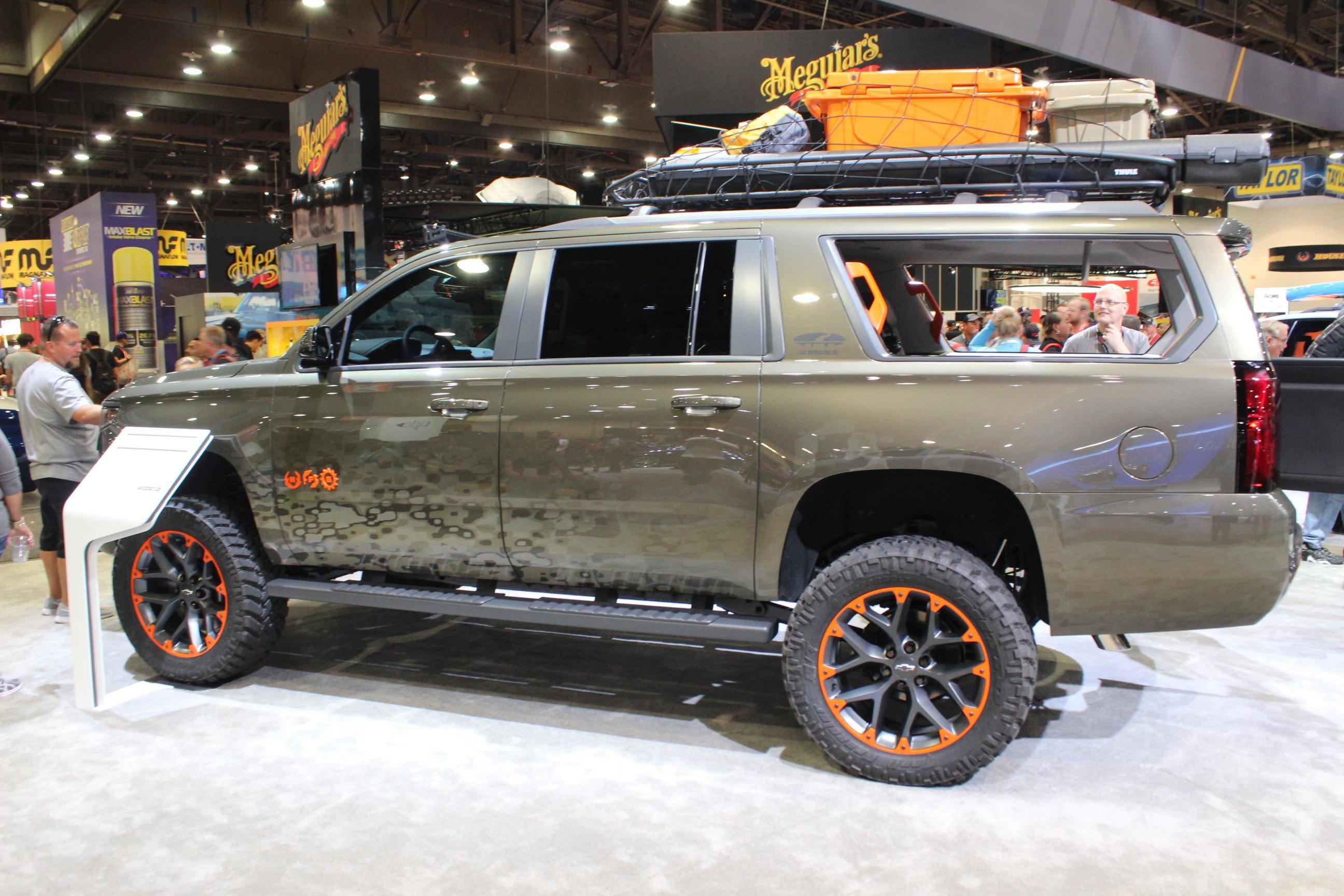 SEMA 2017 Chevrolet Unveils Trucks And ZR2 Parts Prior To Show