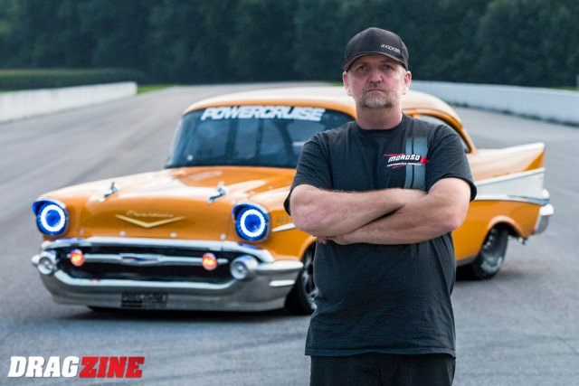 Memphis International Raceway >> Video: Jeff Lutz Crashes New '57 Chevy At Street Outlaws ...