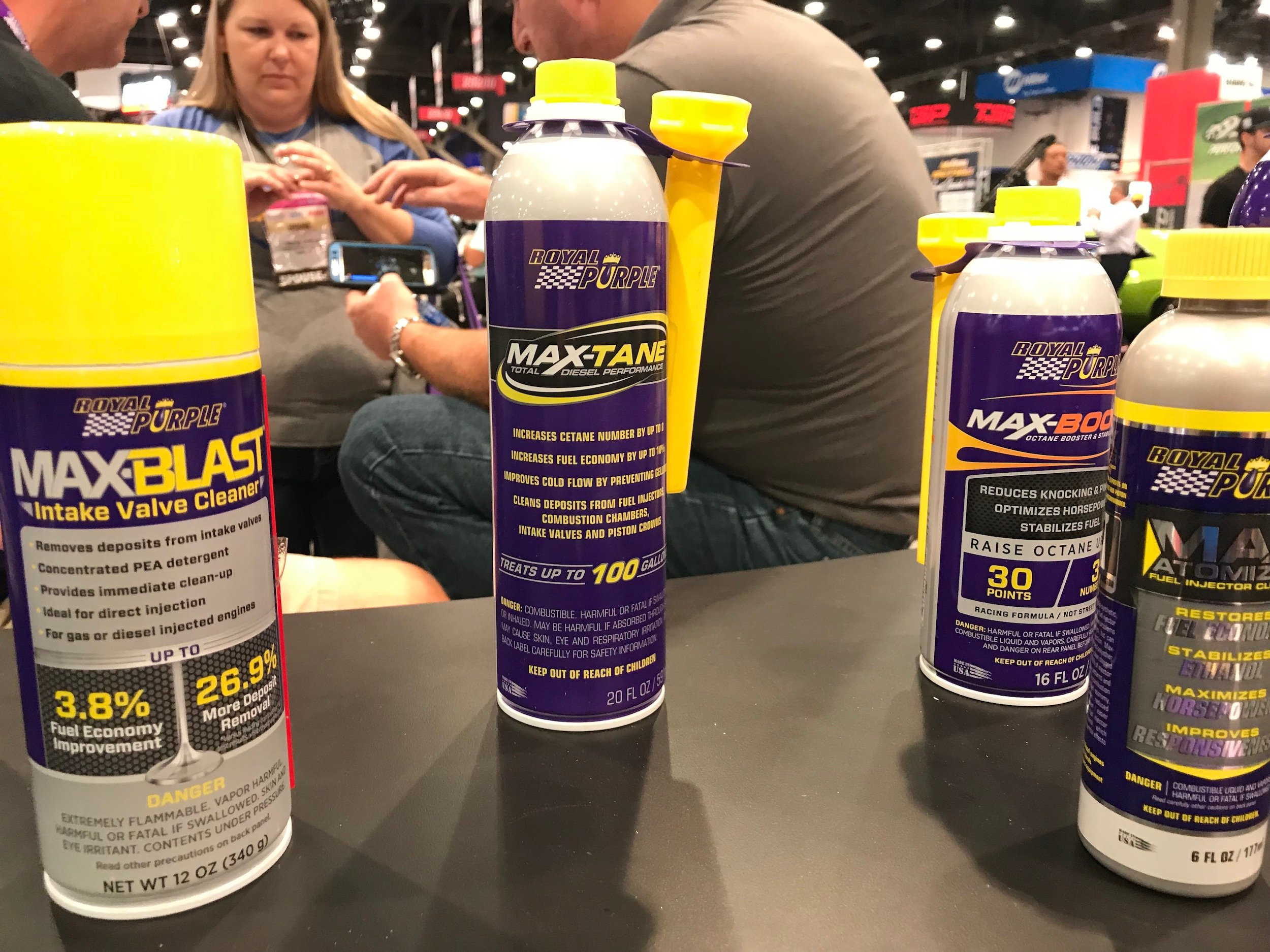 SEMA 2017: Royal Purple's New Cleaners and Extreme