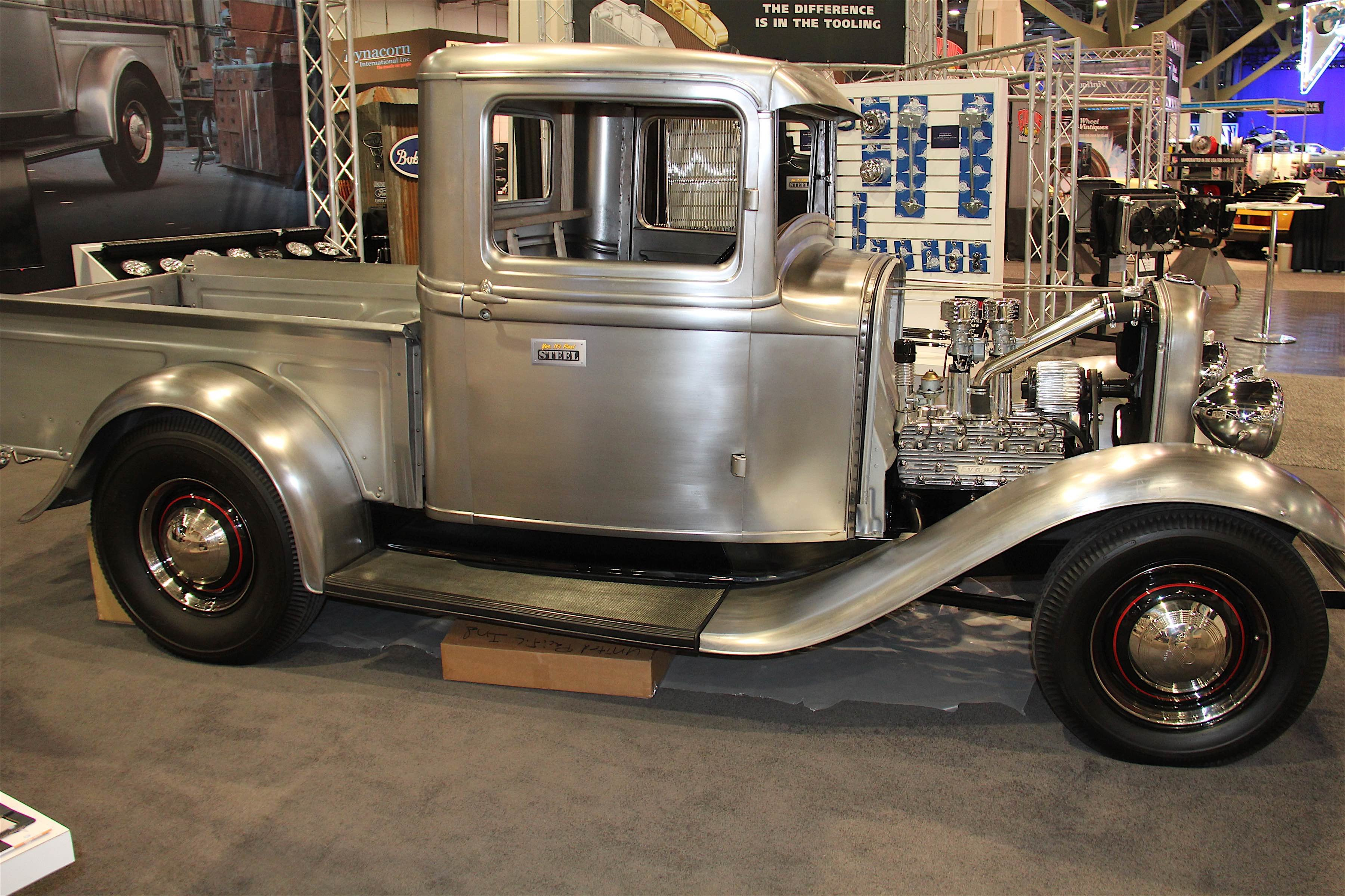 Upi considers the 1932 truck part of the natural progression of their product line the original 32 ford truck was a workhorse that many americans
