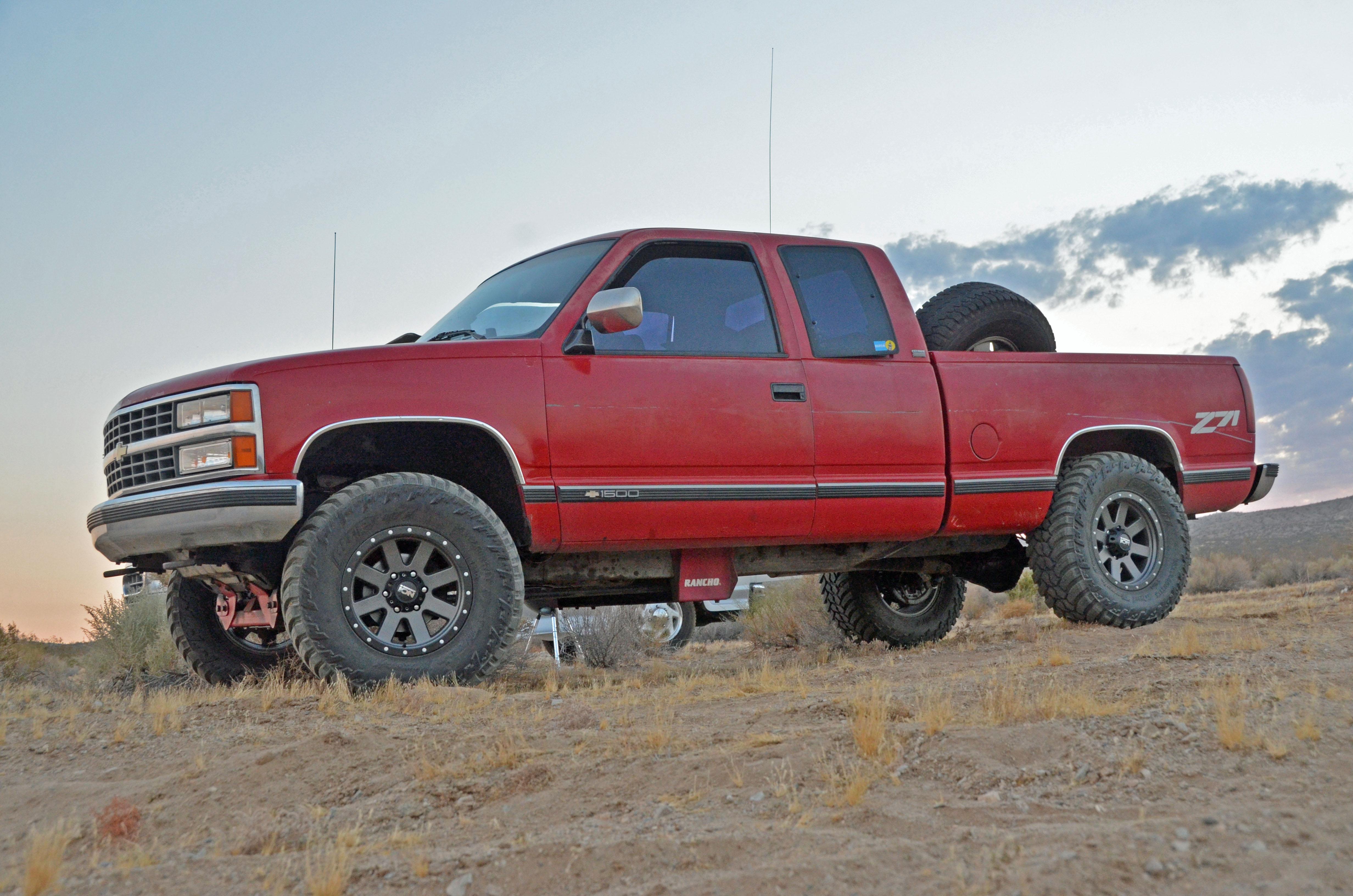 Overland Chevy Silverado