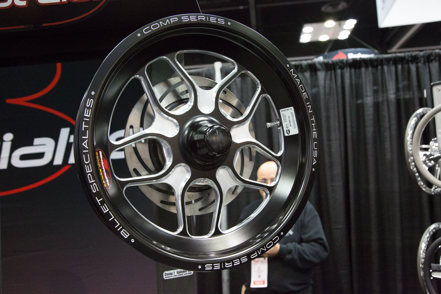Image Billet pri 2017: billet specialties saves you weight with comp 7 wheels