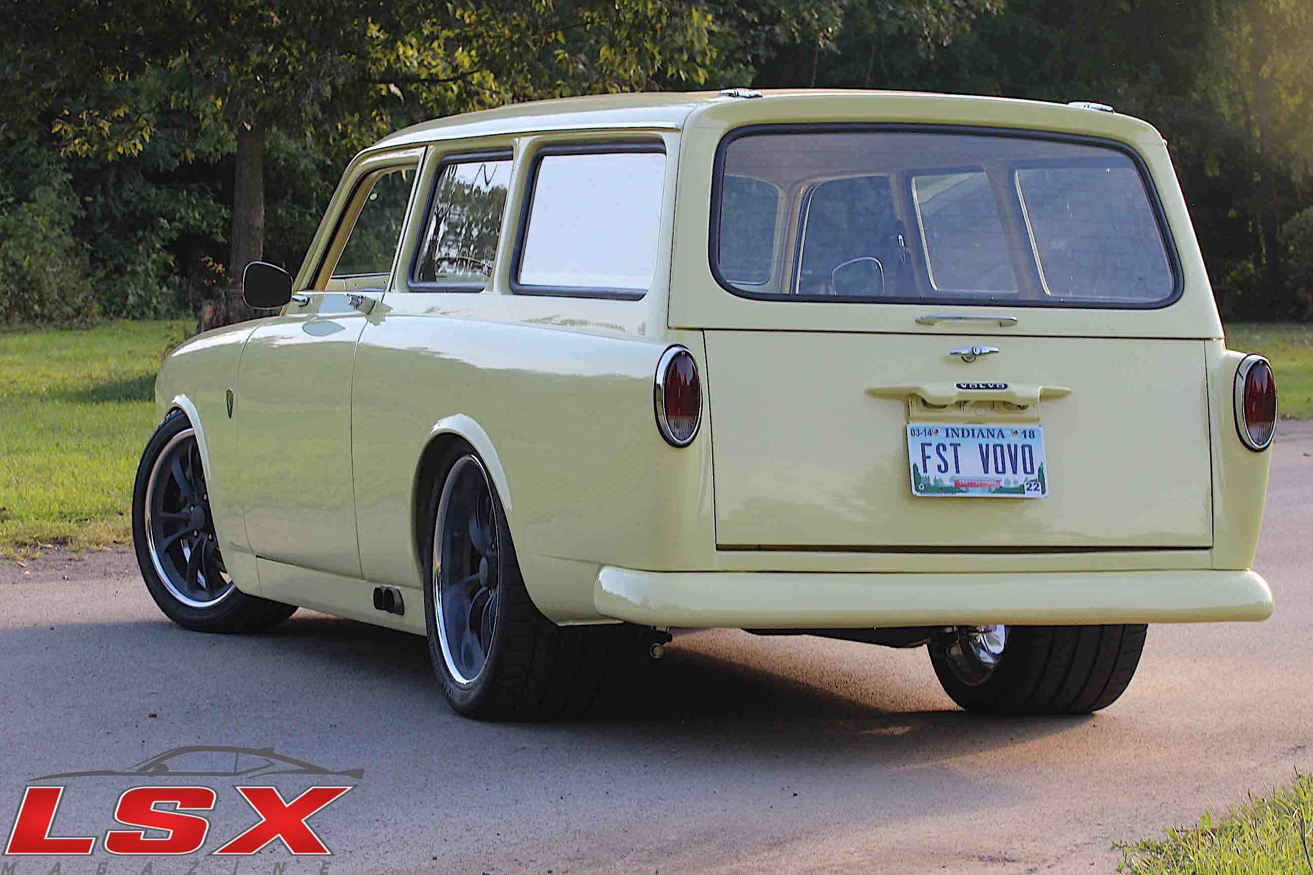 Volatile Volvo: Greg Carnforth's Immaculate LS-Powered '65 Volvo
