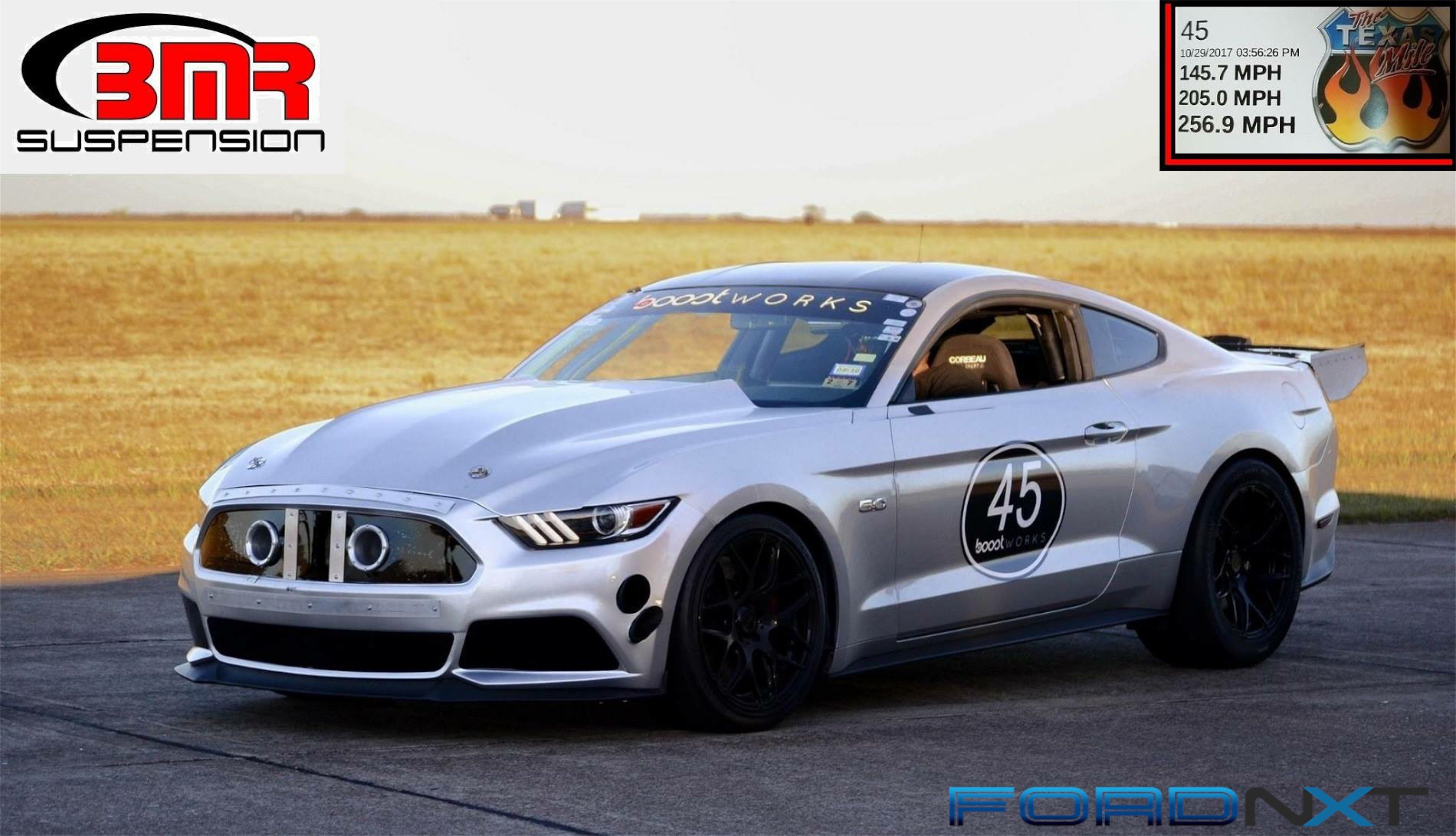 2 400hp 2015 Mustang Gt Is Gunning For 270 Mph