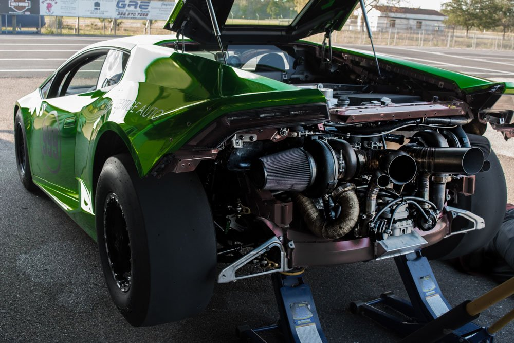 The Worlds First True Drag Race Specific Lamborghini Huracan
