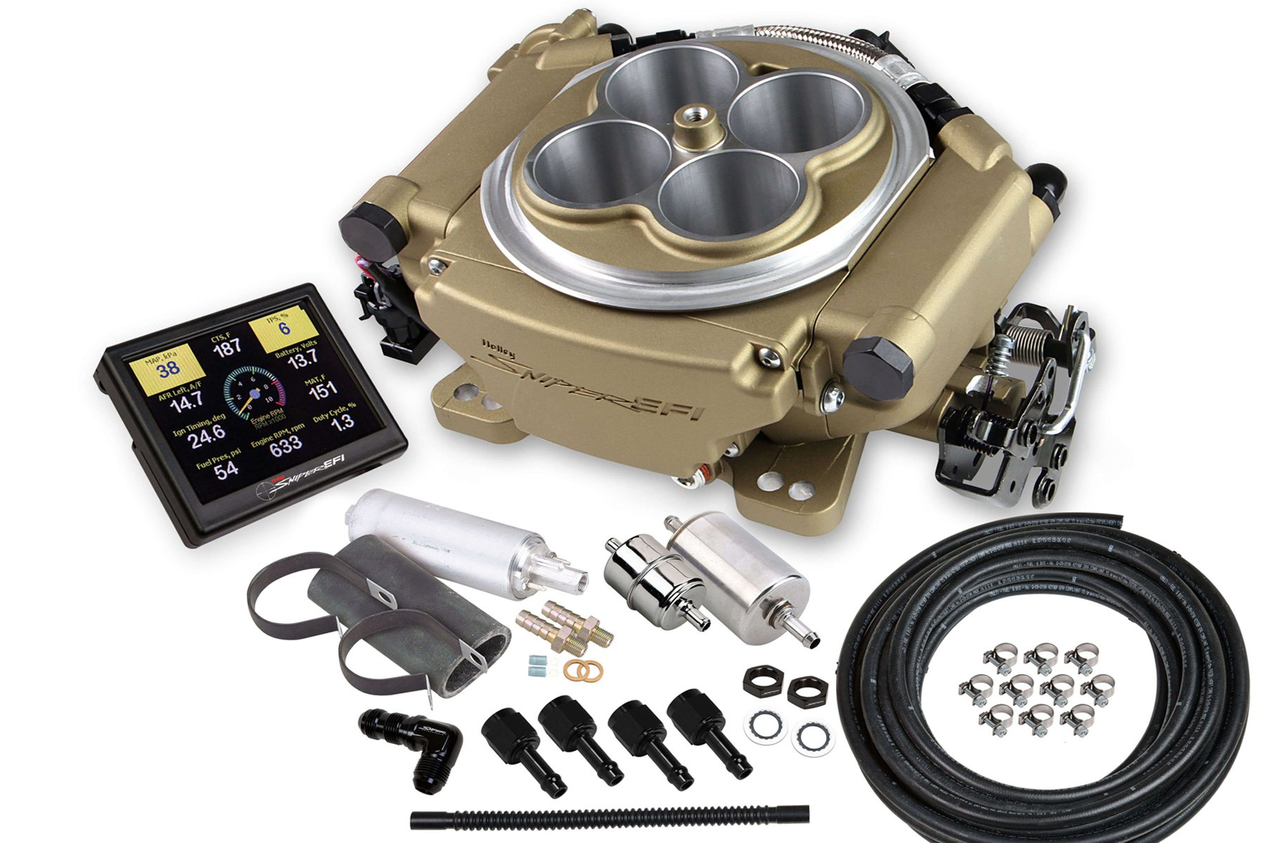 Installing Holley's Sniper EFI Is An Easy Task, And You Can