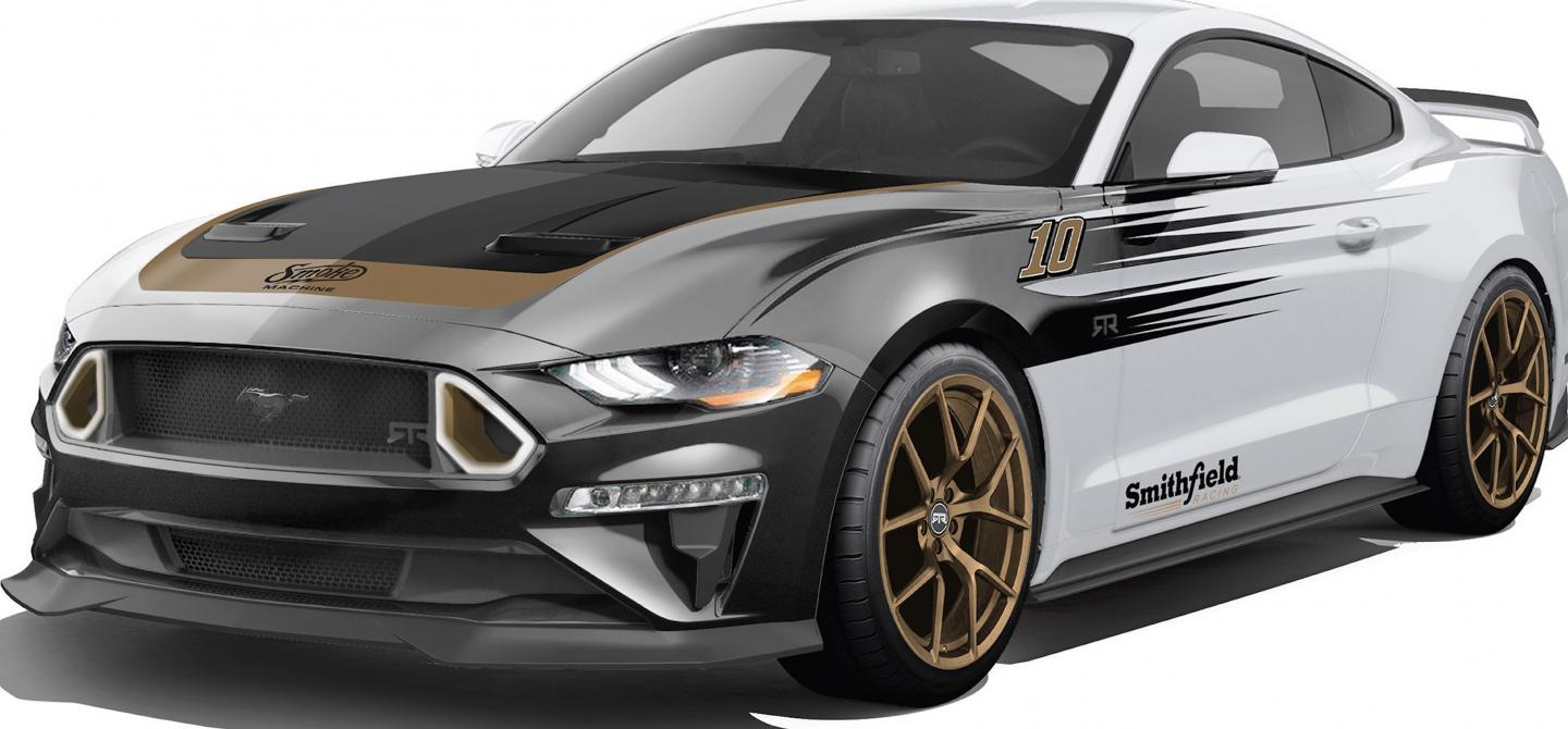 You Could Win A Smokin 700hp 2018 Mustang Rtr Spec 3