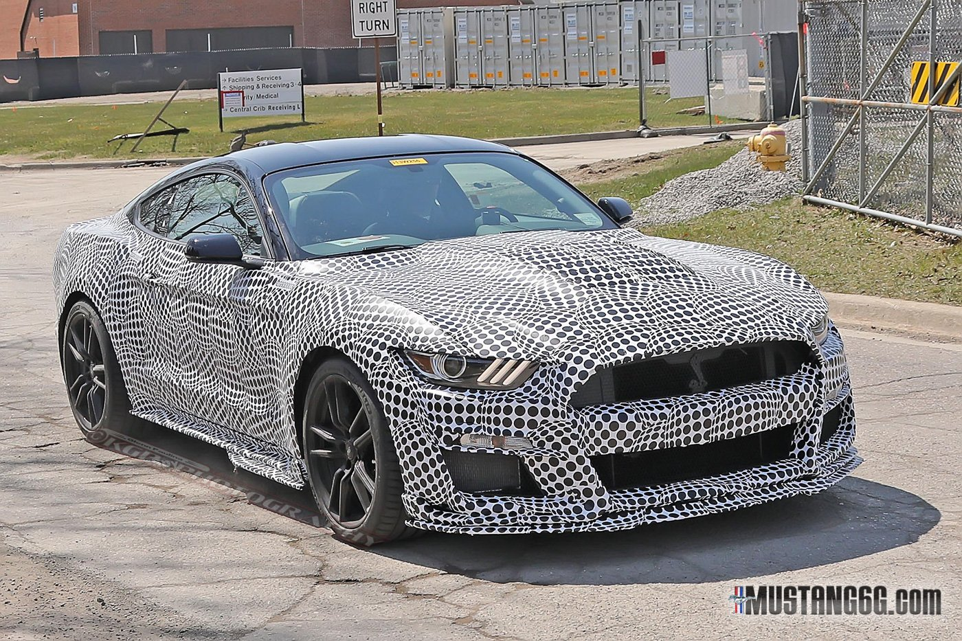 2020 Shelby Gt500 Takes Its Bra Off In Public For The