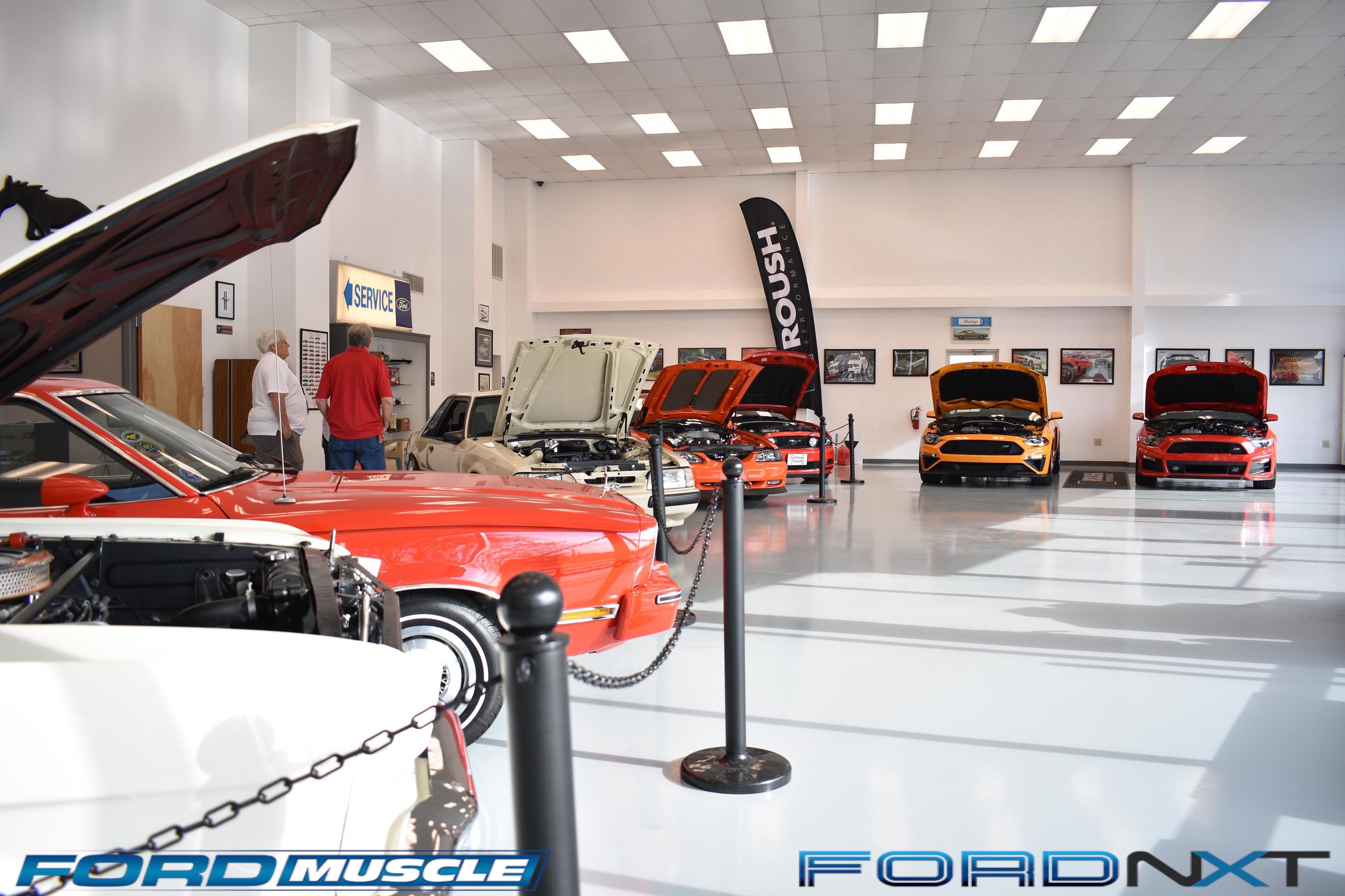 The mustang owners museum celebrated national mustang day for Charlotte motor speedway museum
