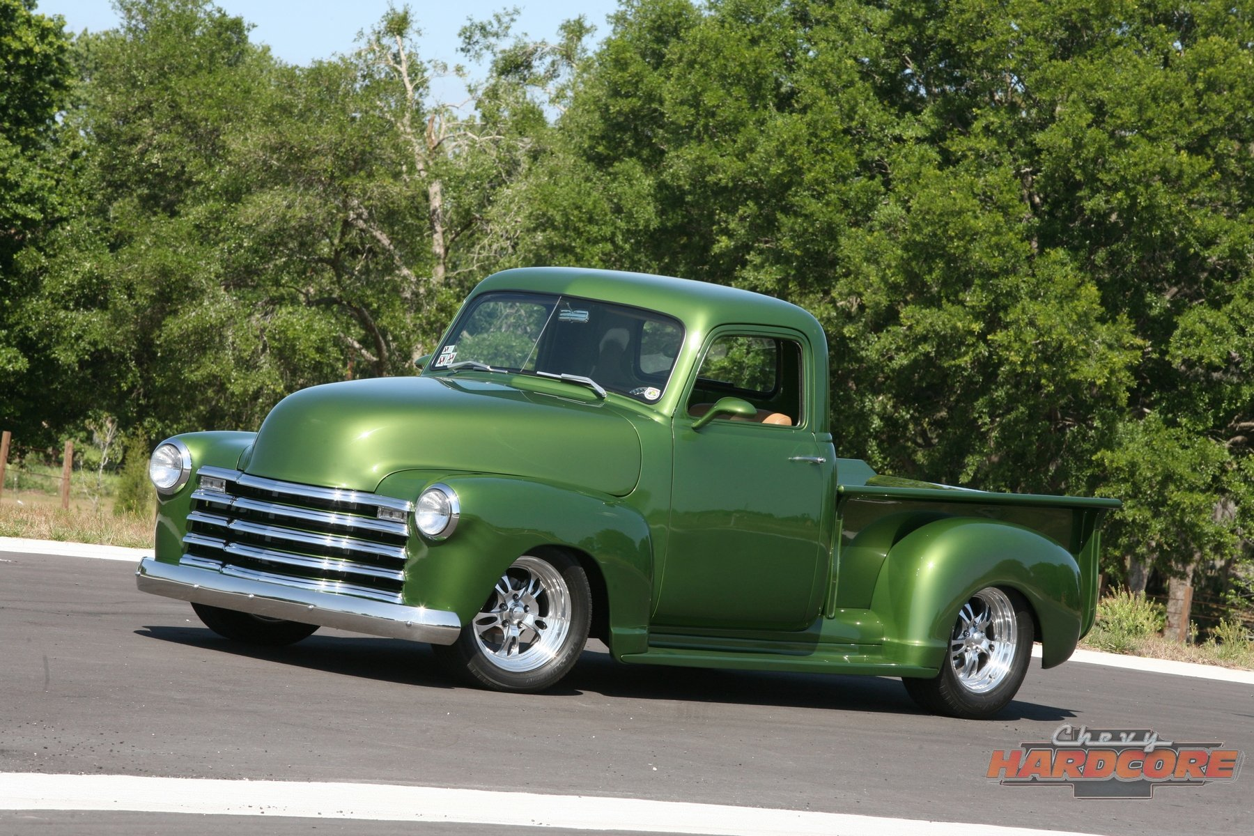 This 49 Chevy Pickup Goes From Old School To Over The Top Cool