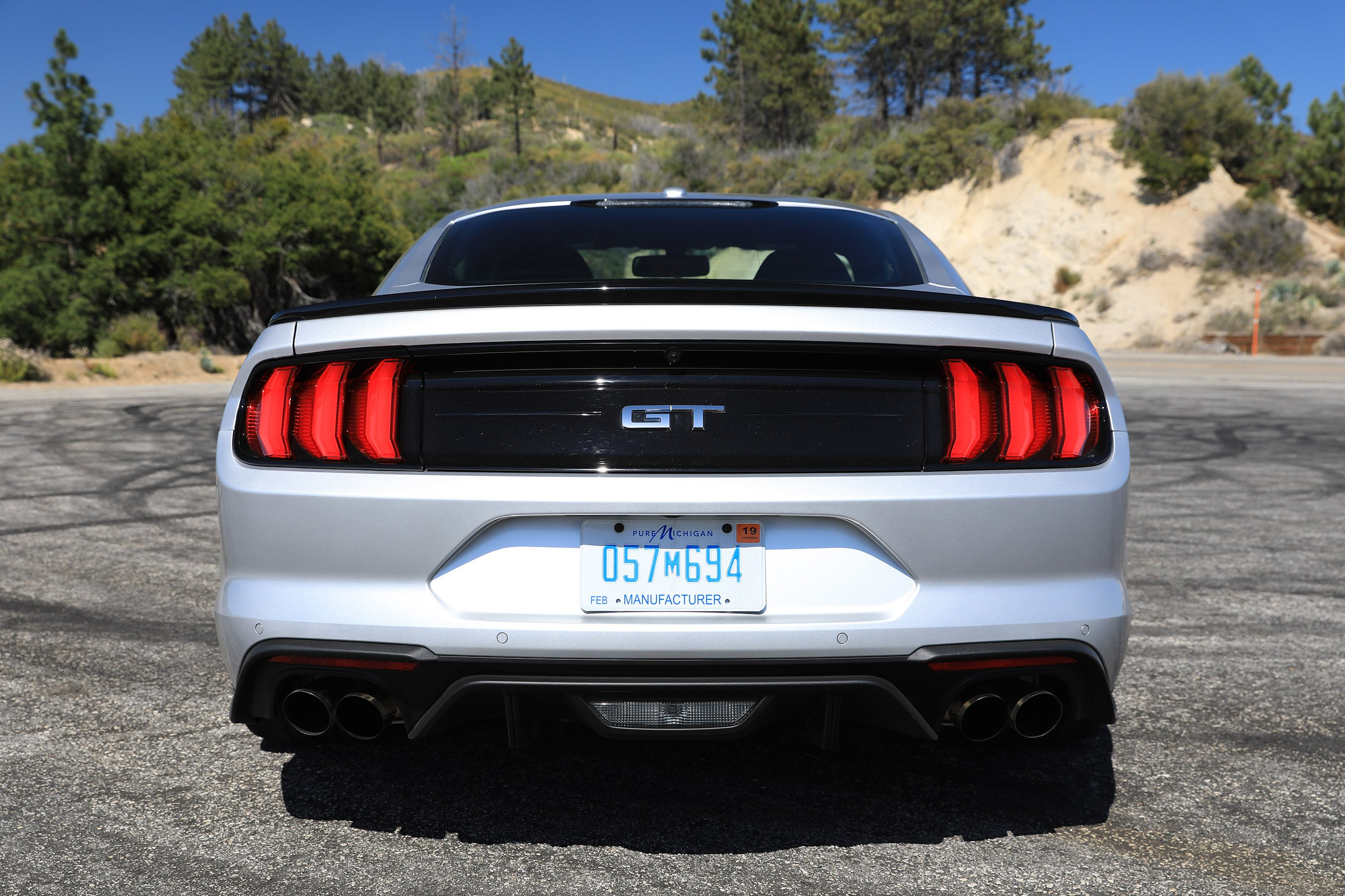 Carving corners in the 2018 ford mustang gt performance pack level 2