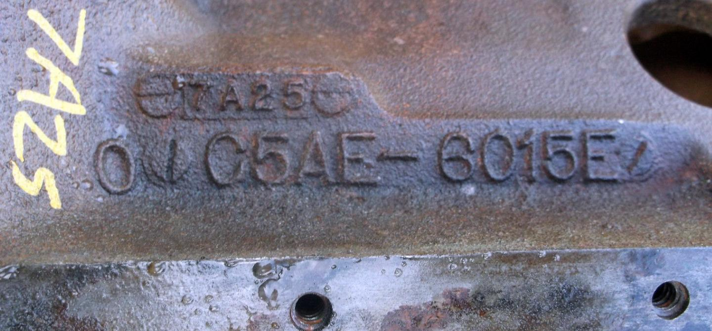 A Guide To Ford V8 Engine Block Casting Numbers, 1952-1996