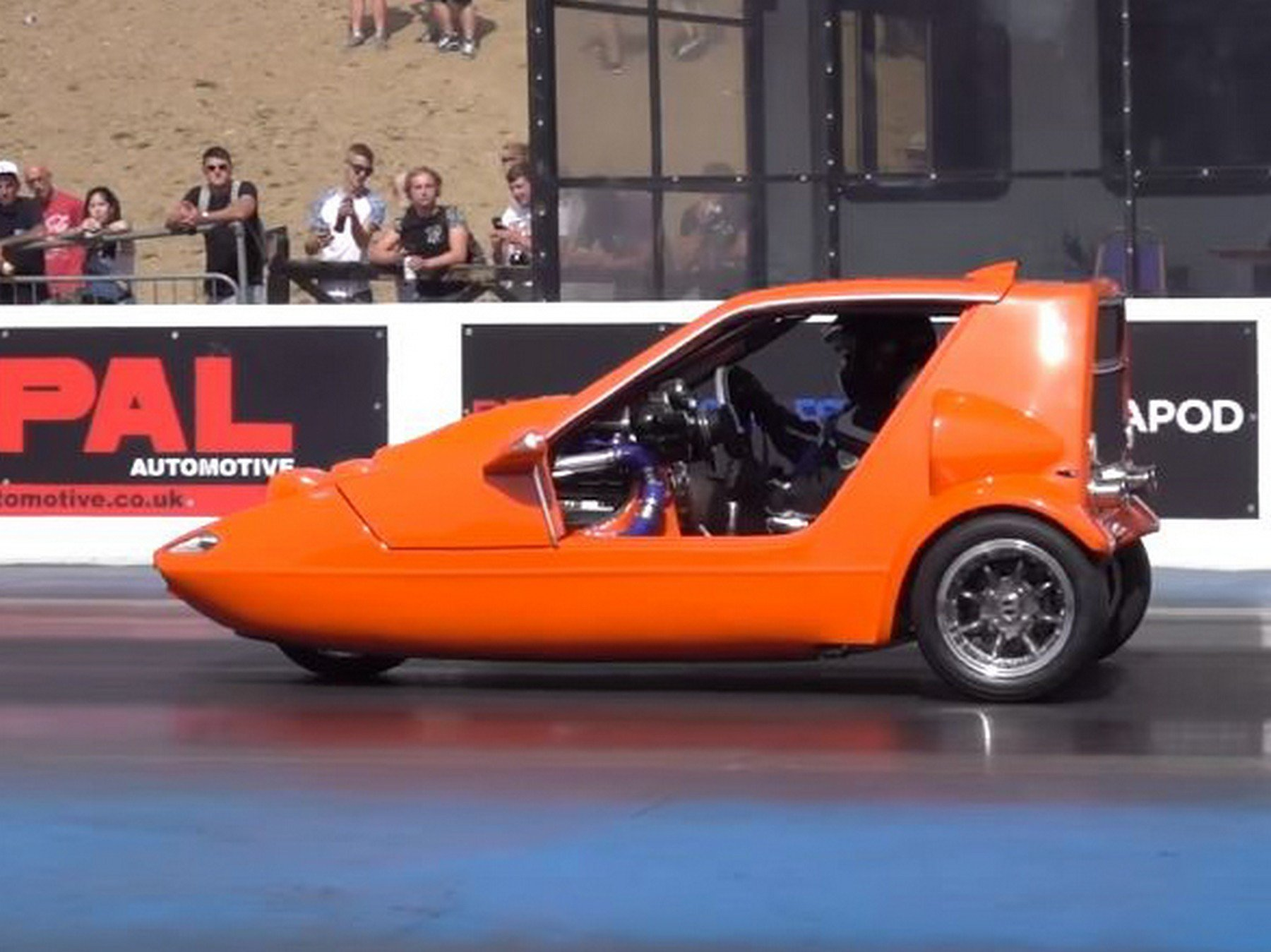 Microcar Madness: A Bond Buggy With A Boosted Hayabusa Engine
