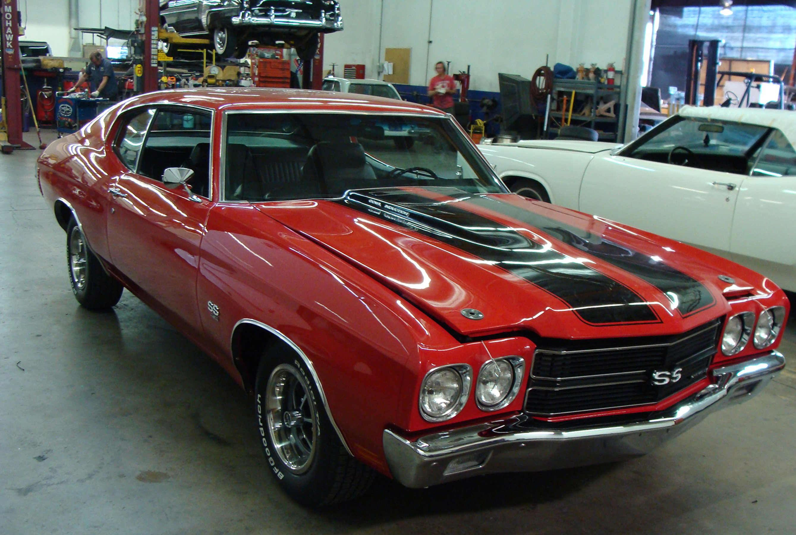 Rob S Movie Muscle Jack Reacher S 1970 Chevrolet Chevelle Ss 396