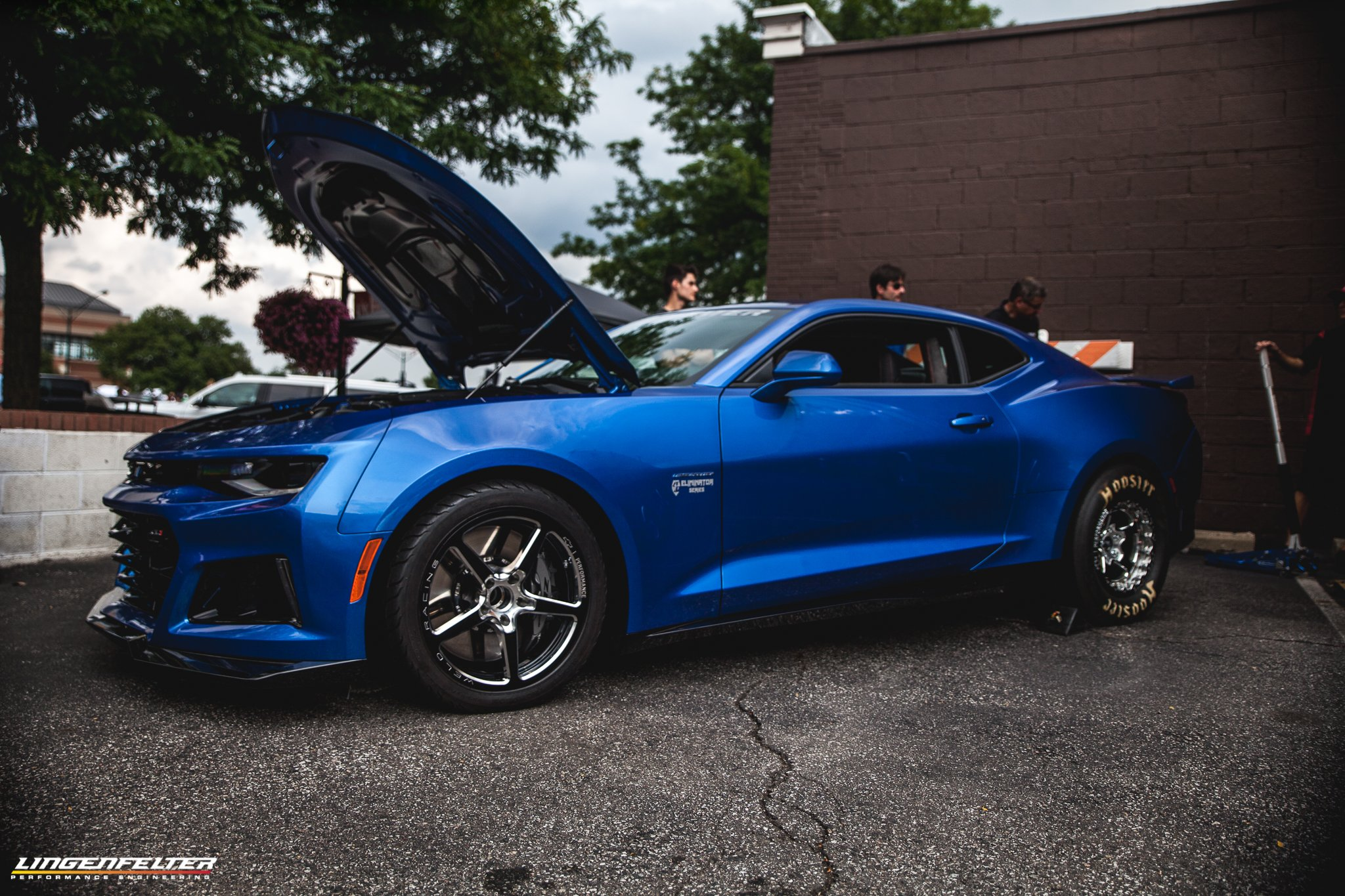 After Dynoing The Zl1 For A Baseline Lingenfelter Starts With Removal Of Stock 650 Horse 650lb Ft Torque Lt4 Engine