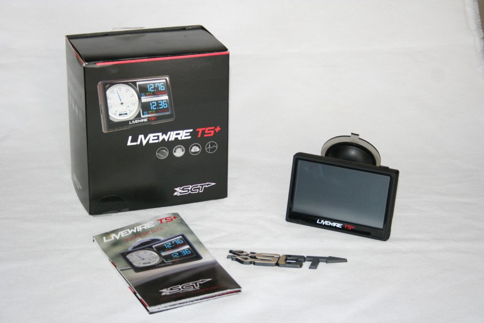 SCT Livewire TS+ tuner unboxed