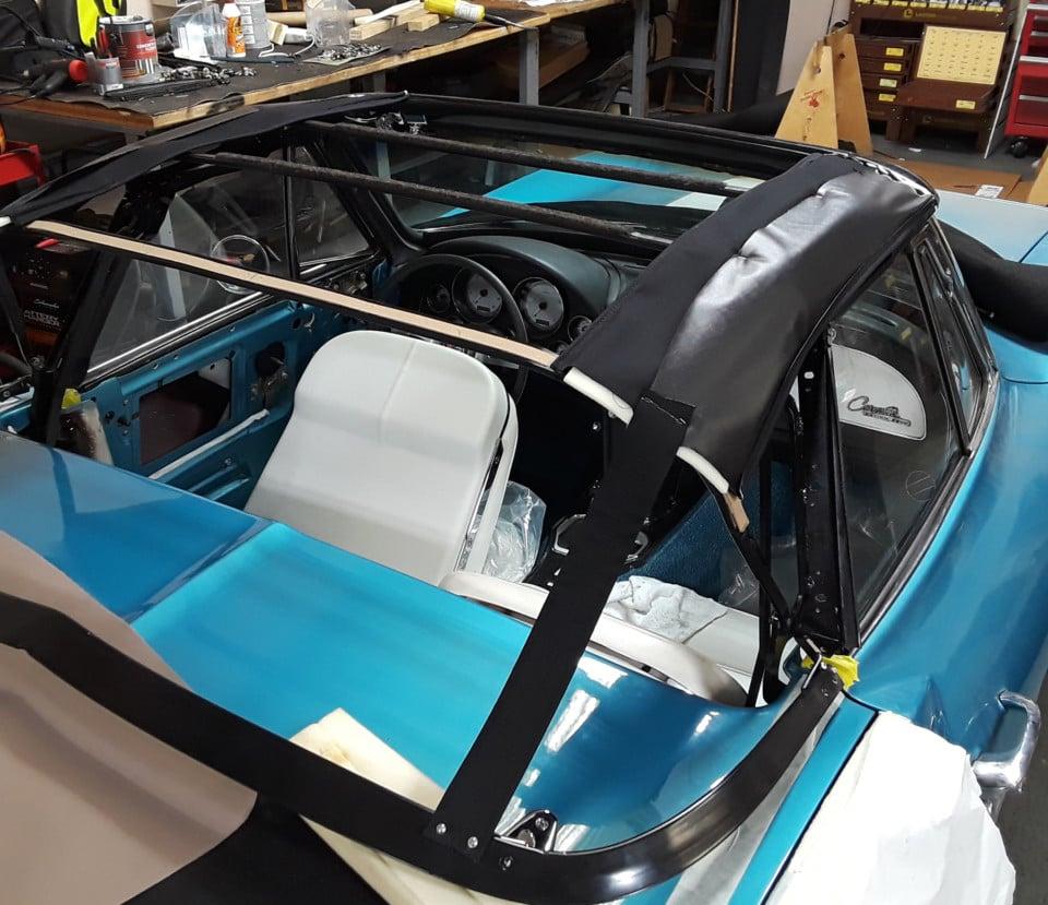 convertible top