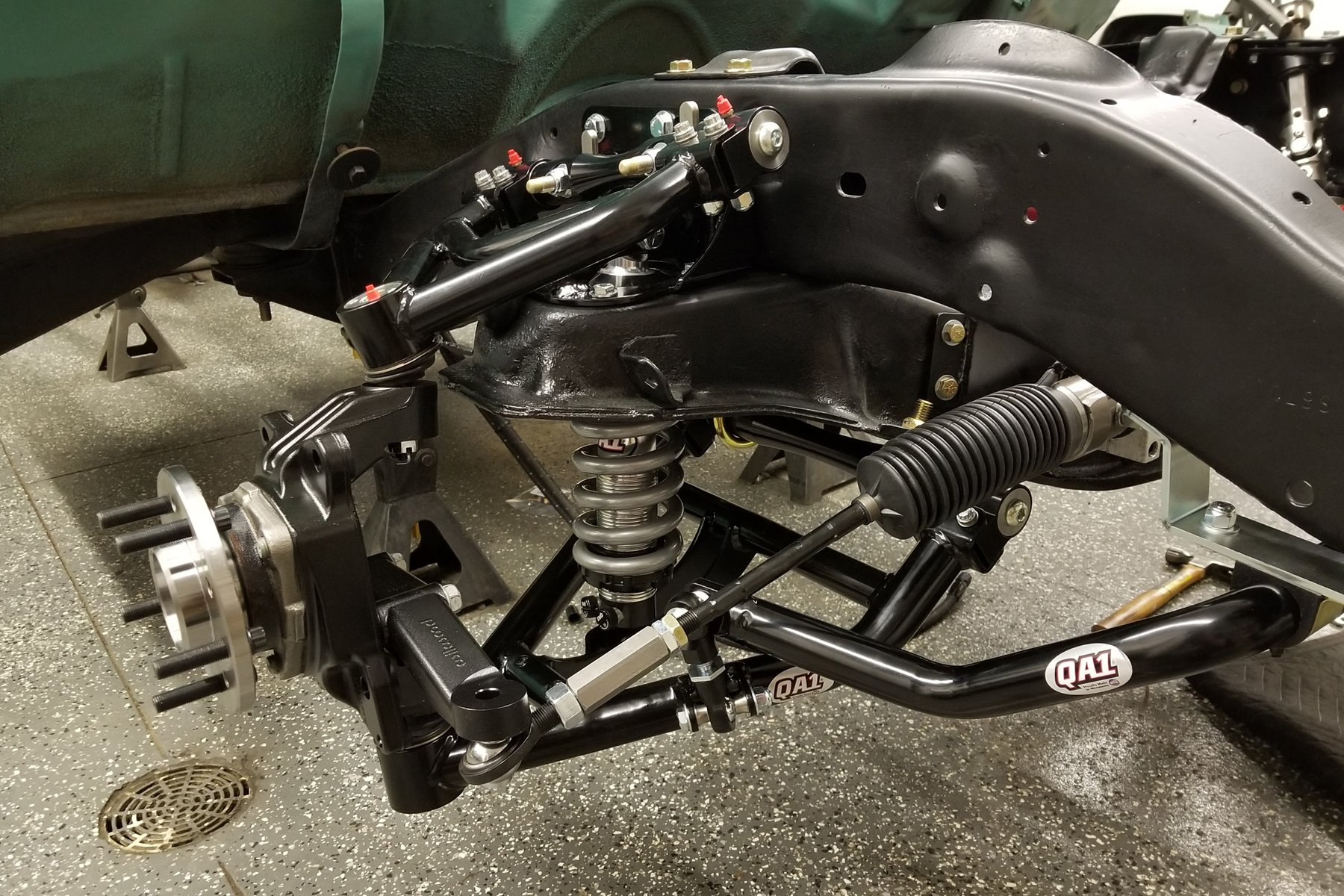 Get The Low Down On A Qa1 C10 Suspension Upgrade