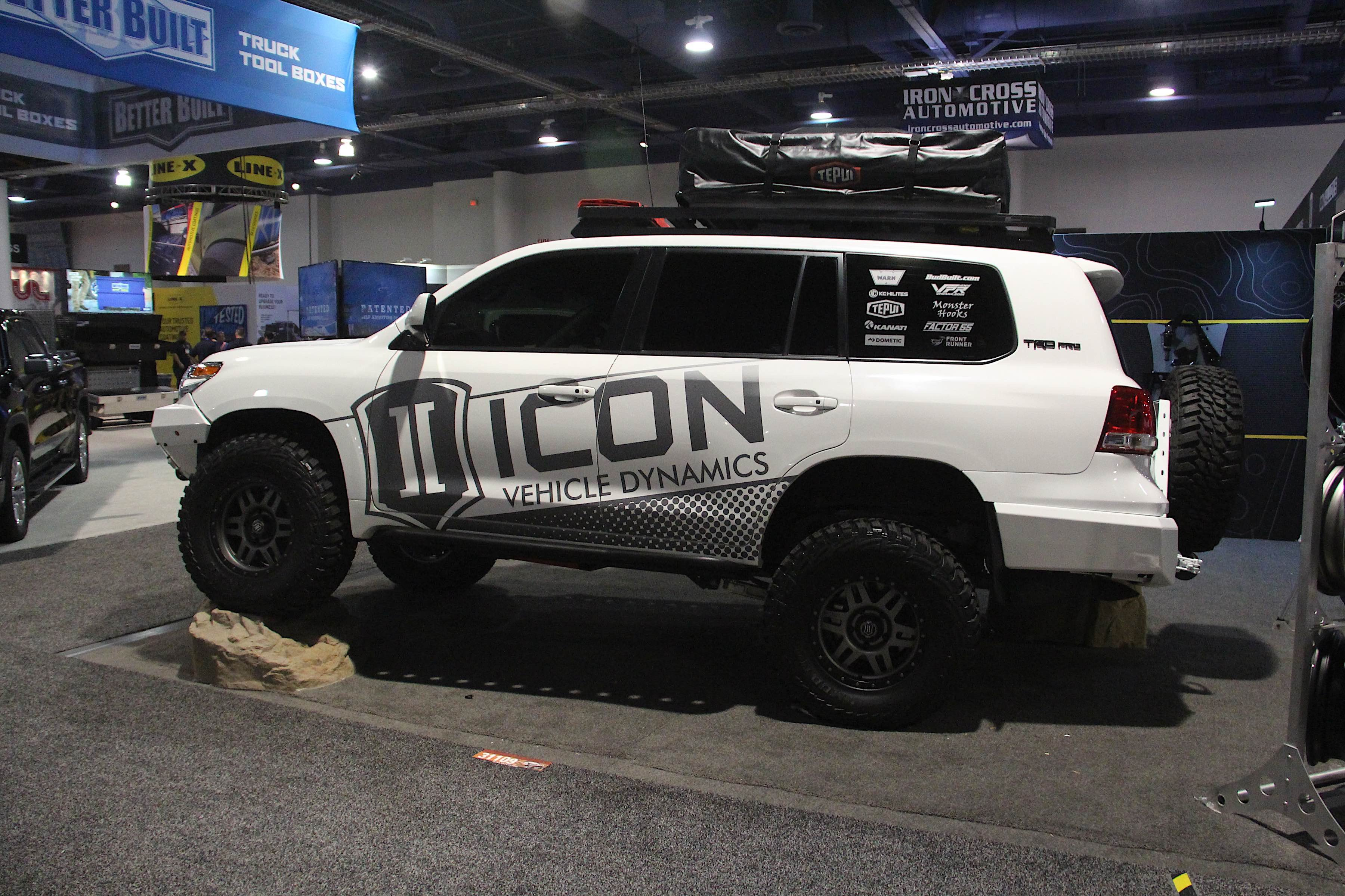 SEMA 2018: ICON Shows Off Complete Customs-Built Land Cruiser