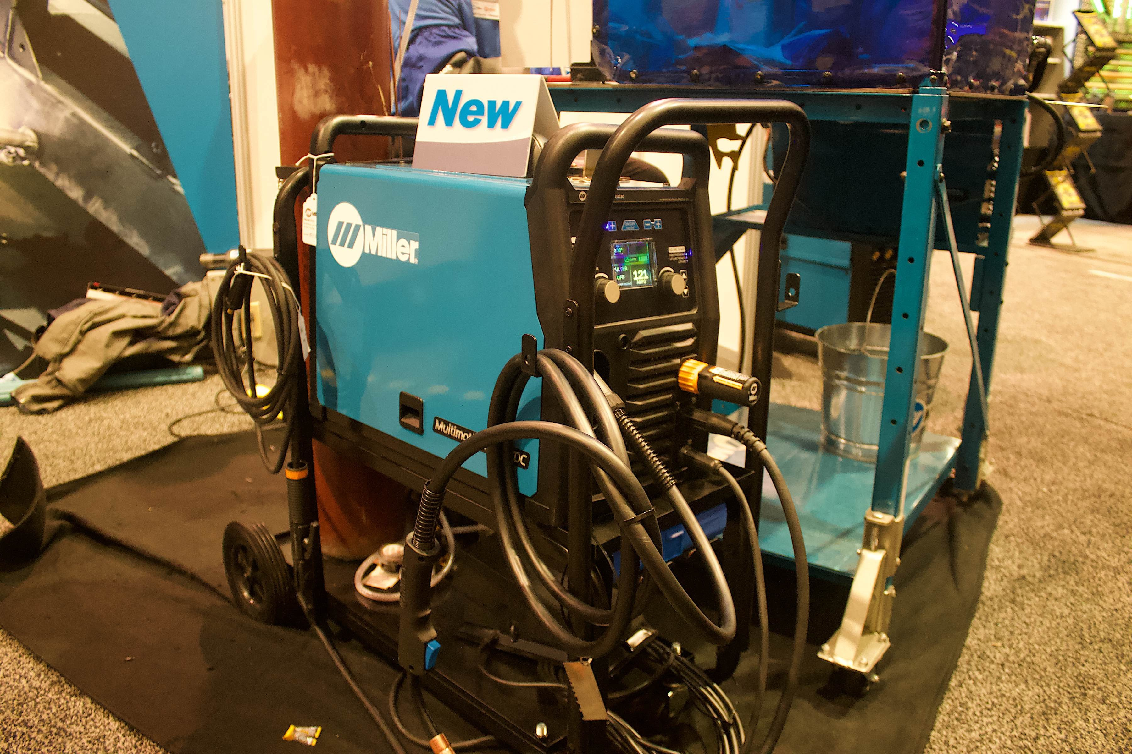 Miller Multimatic 215 >> SEMA 2018: Miller Shows Off Their New Multimatic 220 AC/DC ...