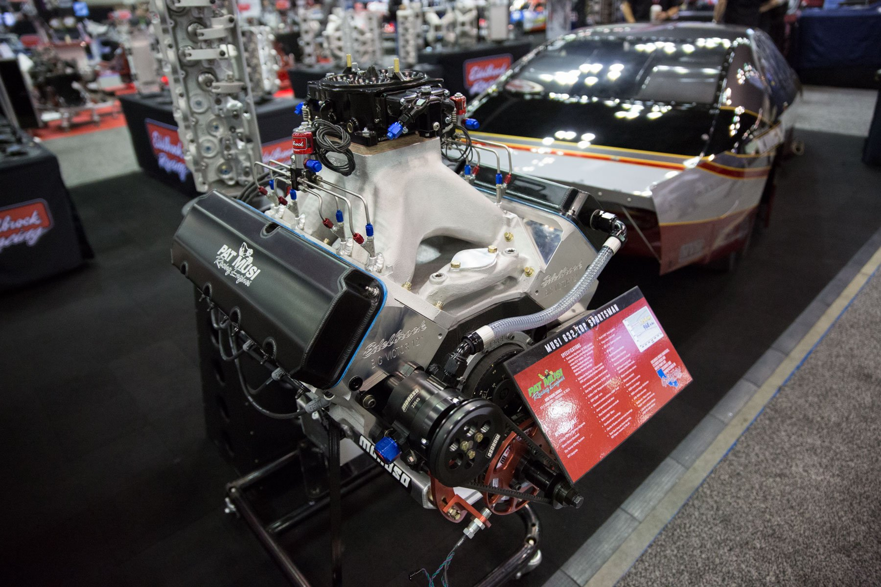 Edelbrock and Pat Musi Racing Engines are two companies that push the  boundaries of high-performance engines and now they are taking things two a  new level.