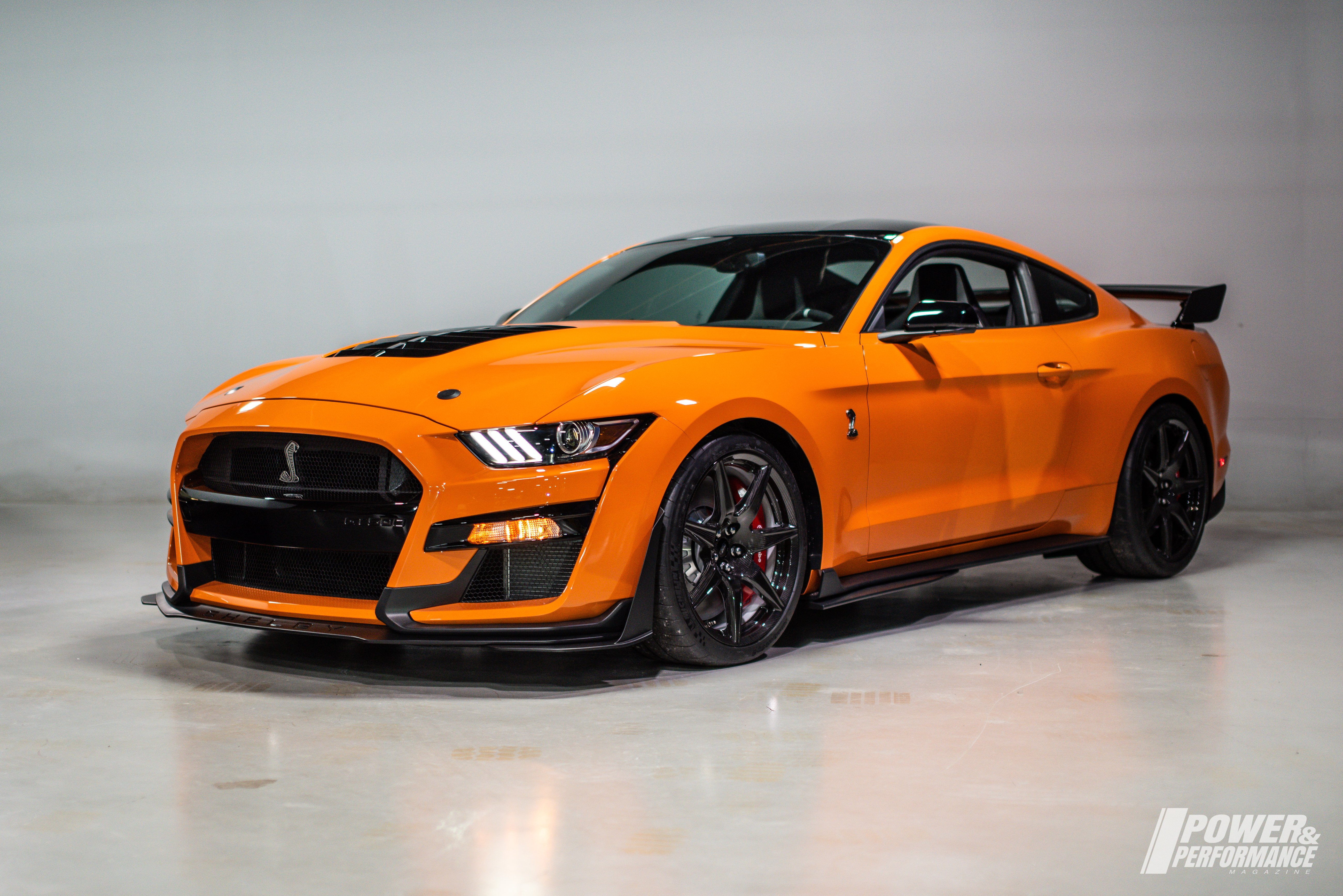 p p exclusive 2020 ford mustang shelby gt500 in twister orange. Black Bedroom Furniture Sets. Home Design Ideas