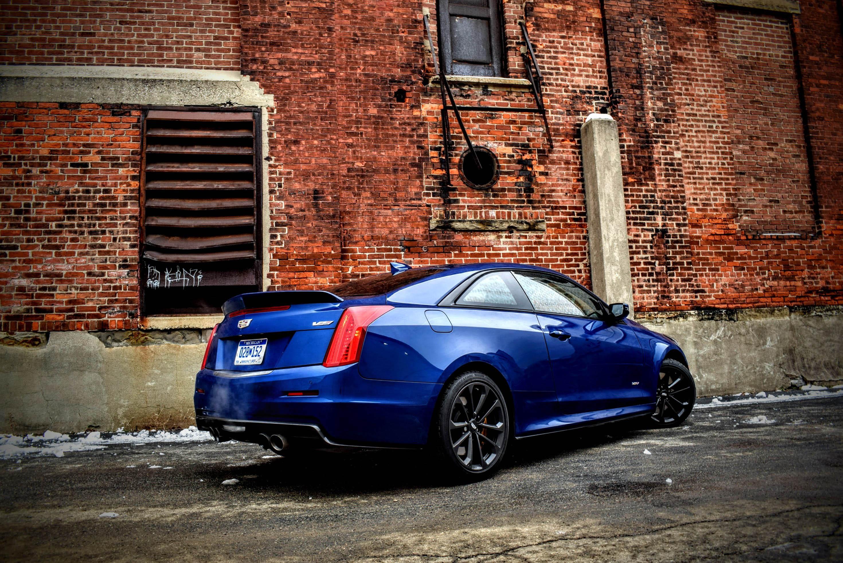 Cadillac Ats V Coupe >> Cadillac Ats V Coupe Review Six Speed Manual Turbo V6 Gm Power