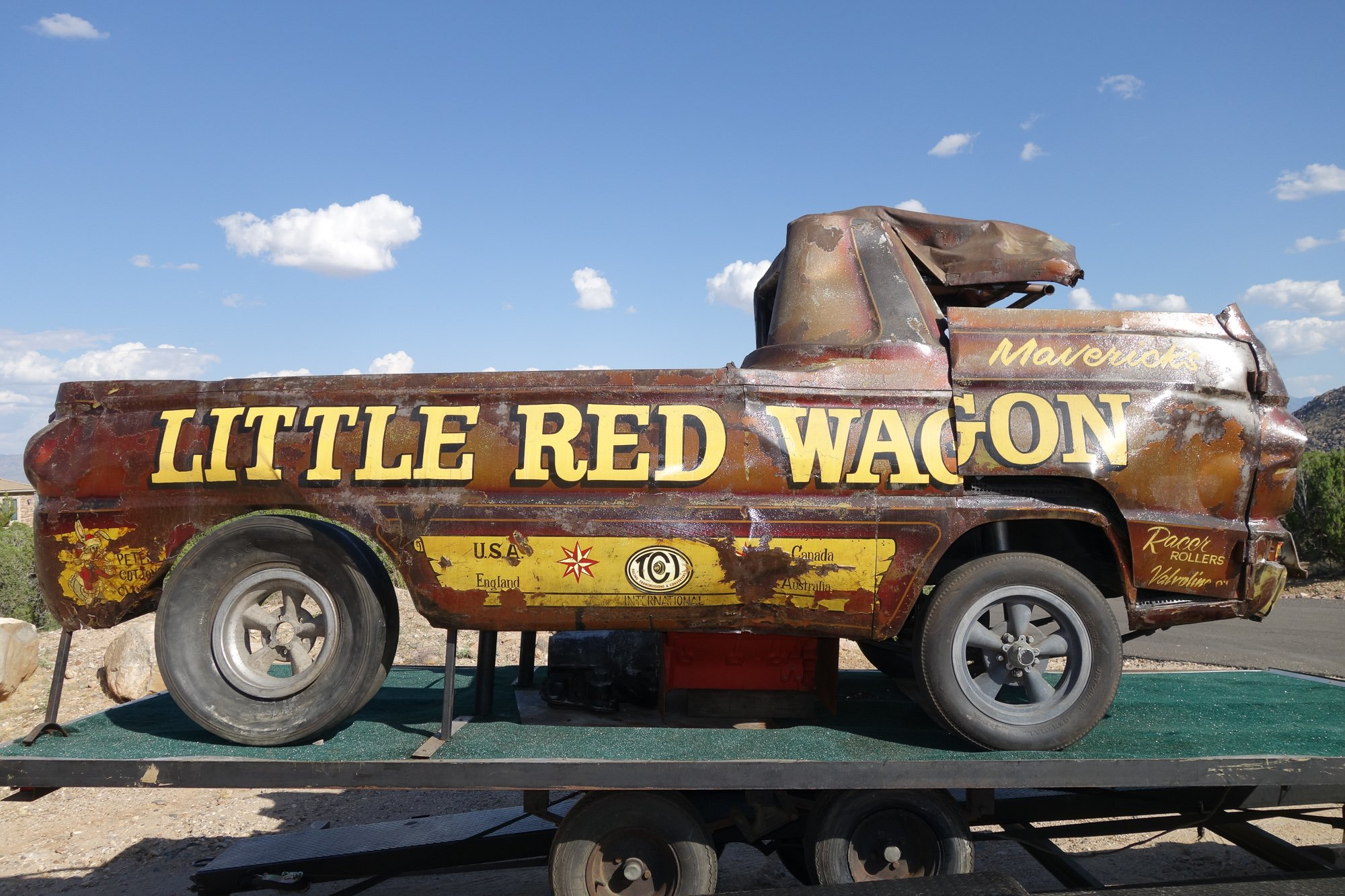 All New Little Red Wagon Wheelstander Rises From Shadow Of