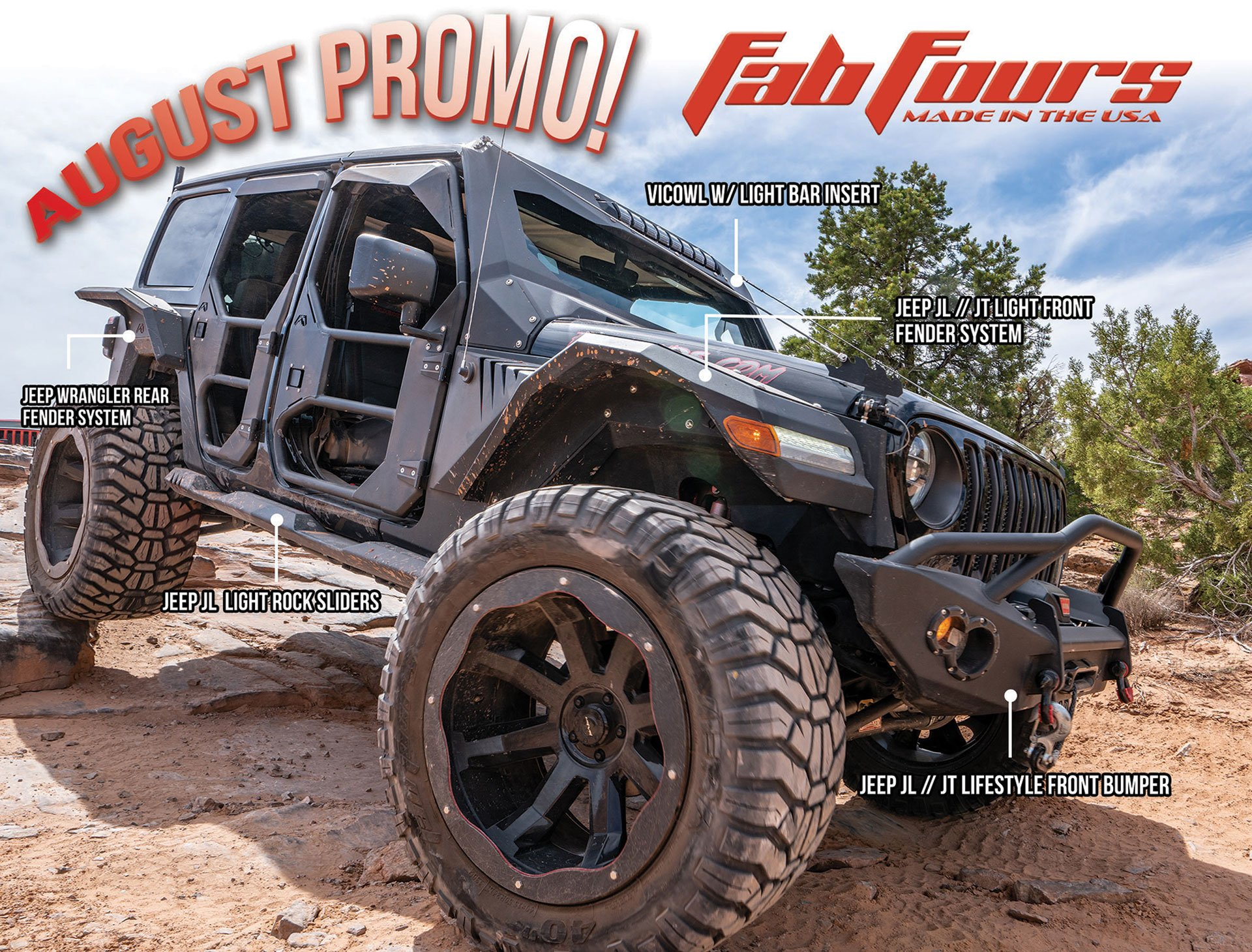 Fab Fours Is Offering Rebate On Jeep Bumpers And More